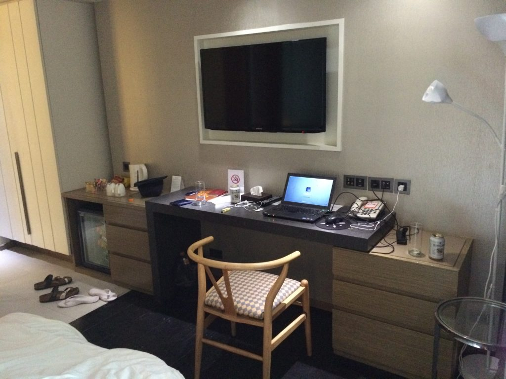 シトラスホテルの部屋