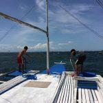 ボートの小さな船員