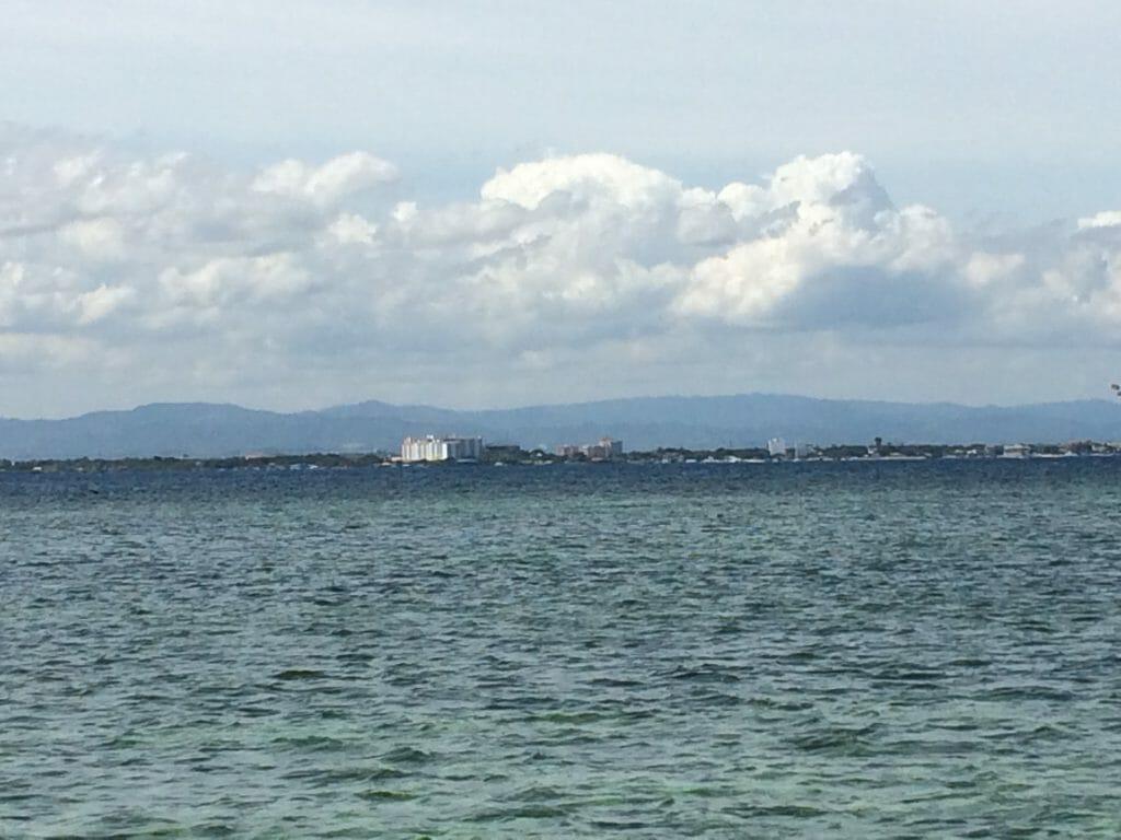 ボートから見る風景