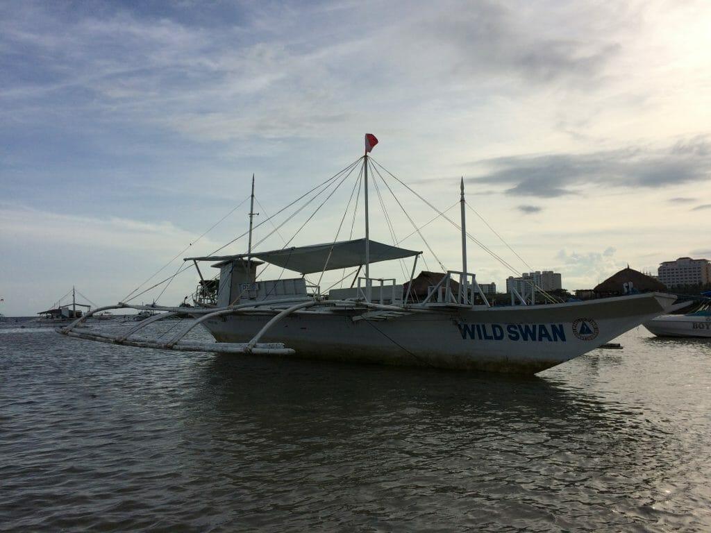 アイランド・ホッピング用のチャーターボート