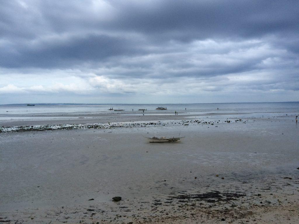 コラルブルーから望む海(夕方)