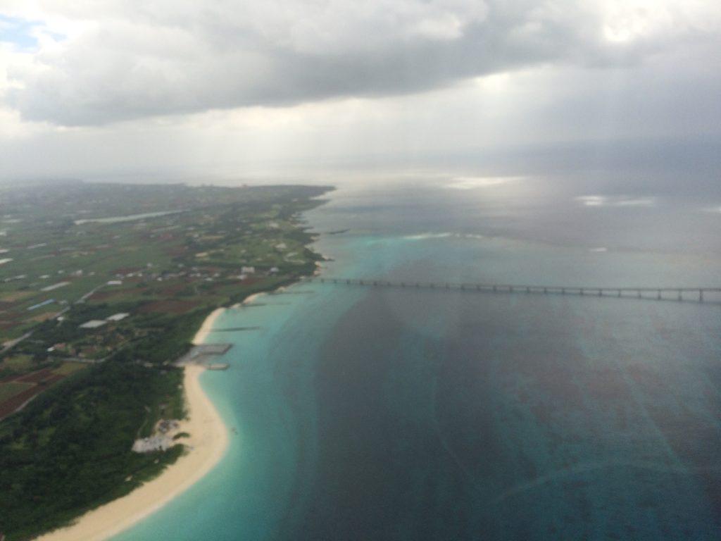 上空から見る宮古島