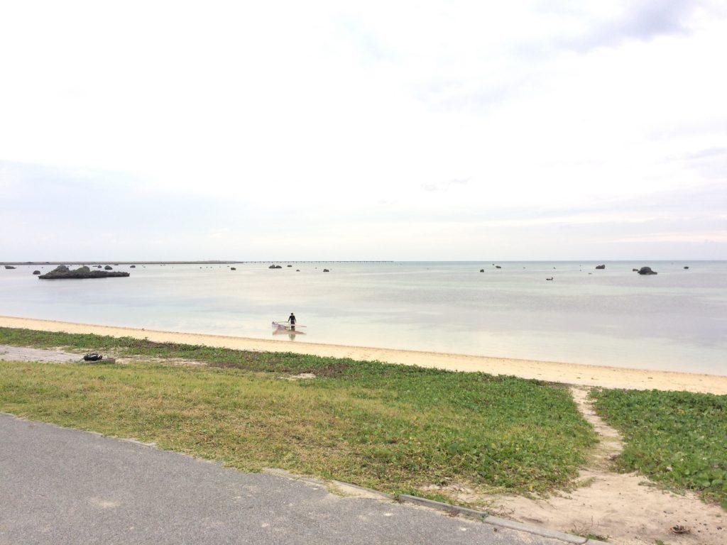 日本の渚百選にも選ばれた佐和田の浜