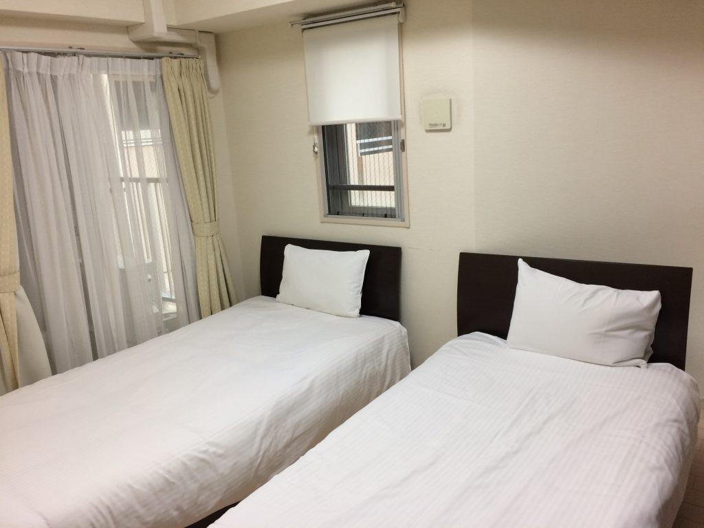 ラブニールの寝室