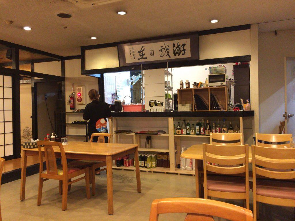 「レストラン入江」の中