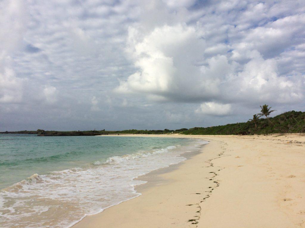 朝の渡口の浜