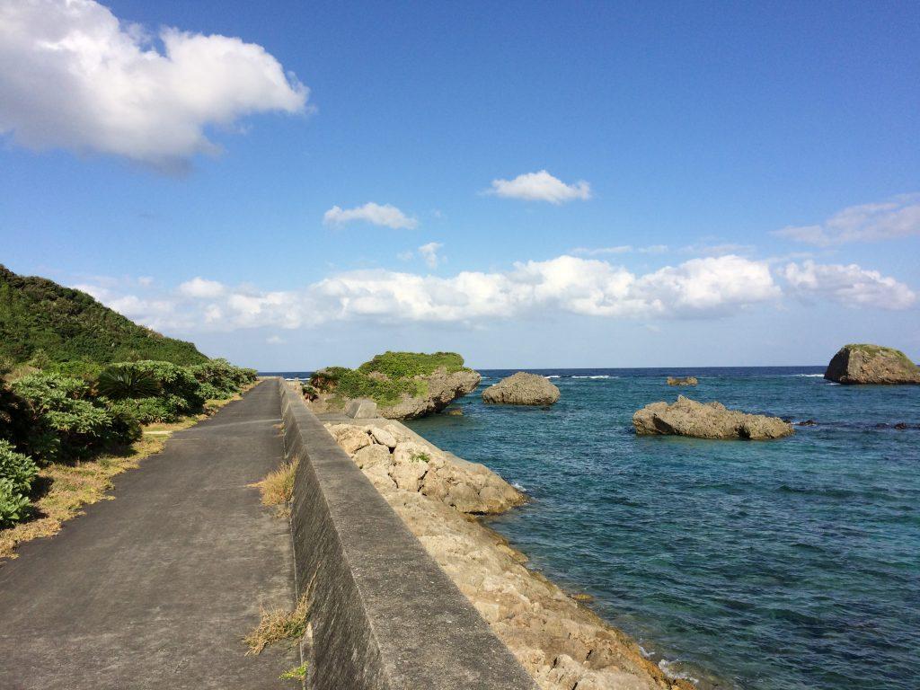 大神島東側外周道路