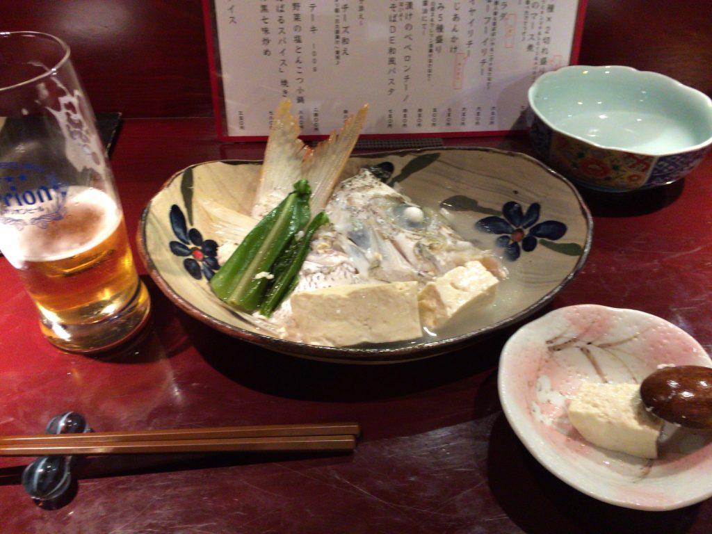 白身魚と島豆腐のマース煮