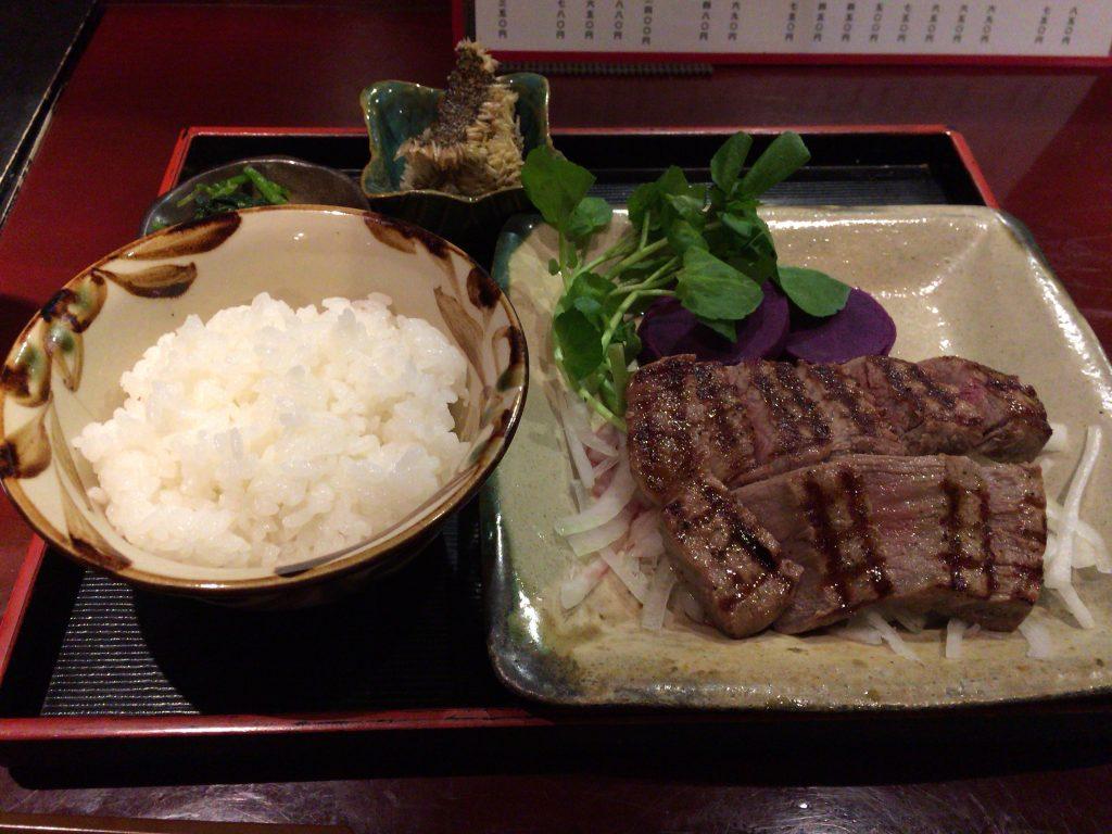 石垣牛のステーキセット