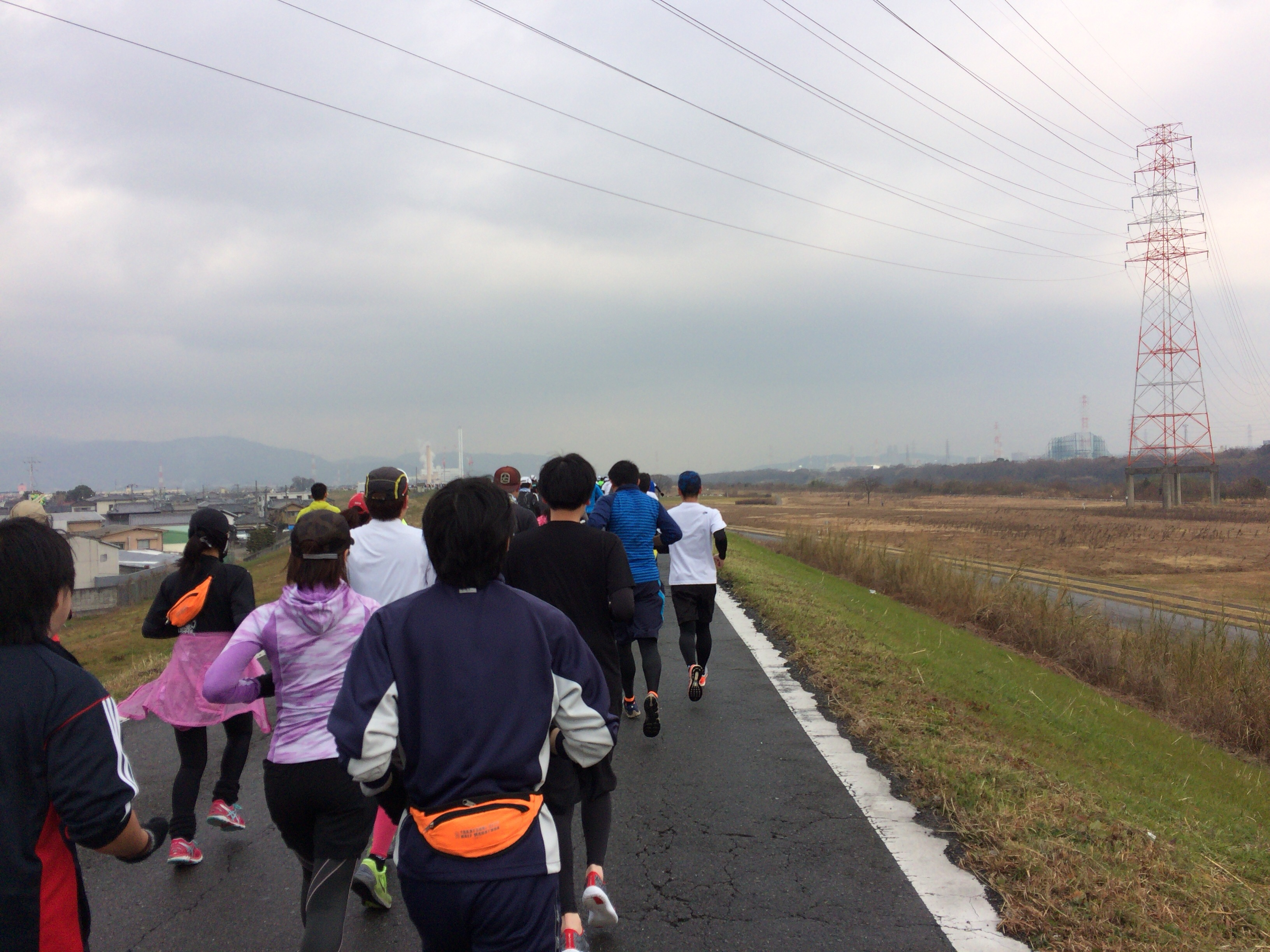 高槻シティハーフマラソンのコース