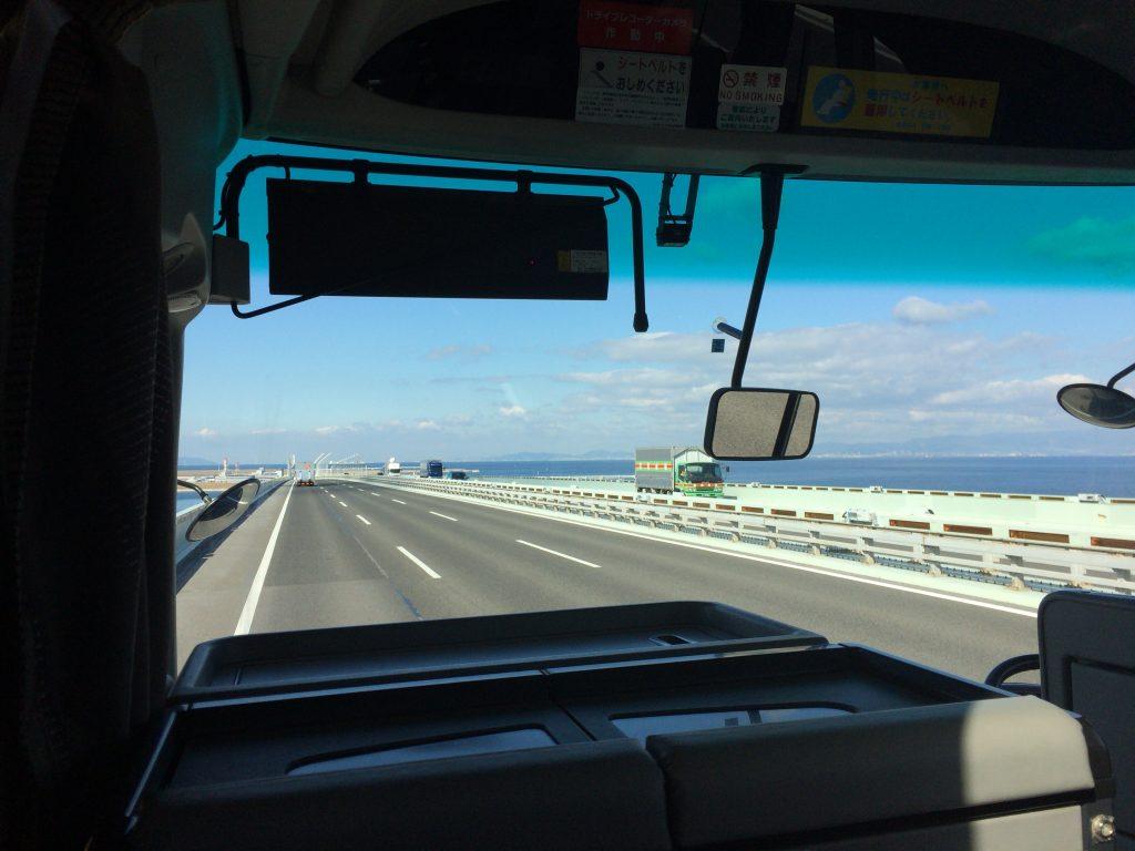 関空行きリムジンバスからの風景