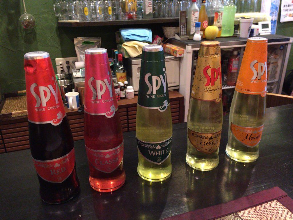 タイのワインクーラー「スパイ(SPY)」シリーズ