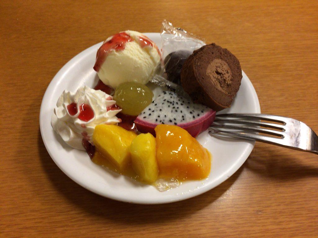 食後のデザート(バイキング)