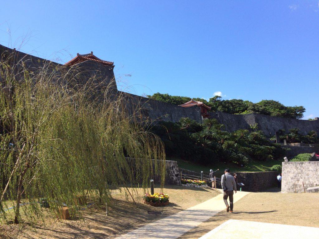 首里城公園内の風景