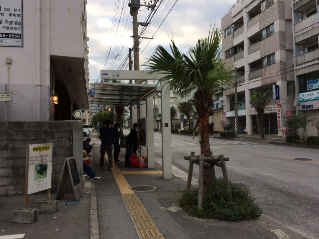 上泉バス停(C)