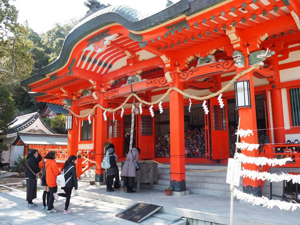 淡嶋神社本殿