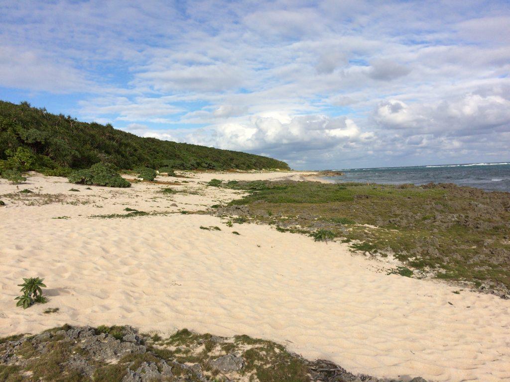 ウパーマ浜(星砂の浜)
