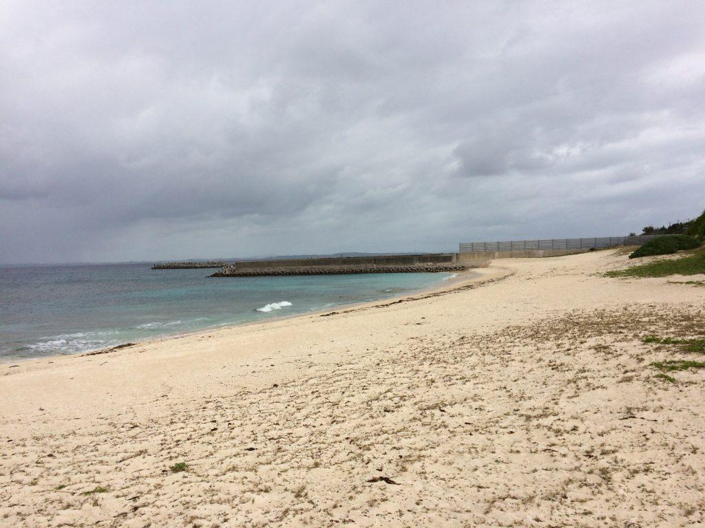 海水浴場になっているメーギ浜