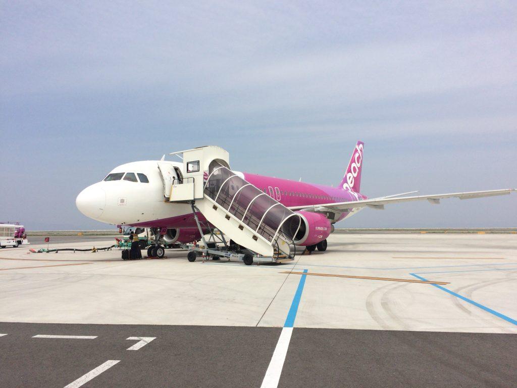 LCCピーチ(Peach)の飛行機