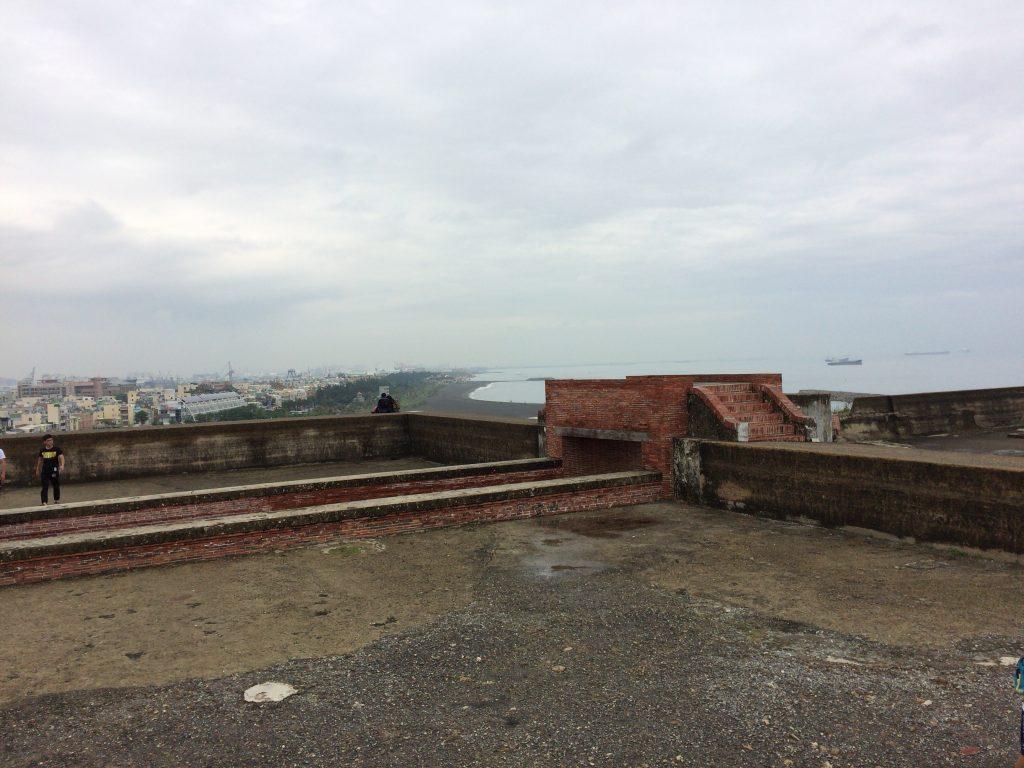 旗後砲台からは旗津半島が一望できる