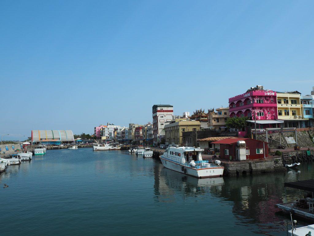 小琉球の白沙漁港