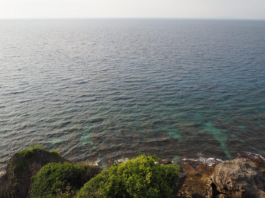 透明度が高い小琉球の海