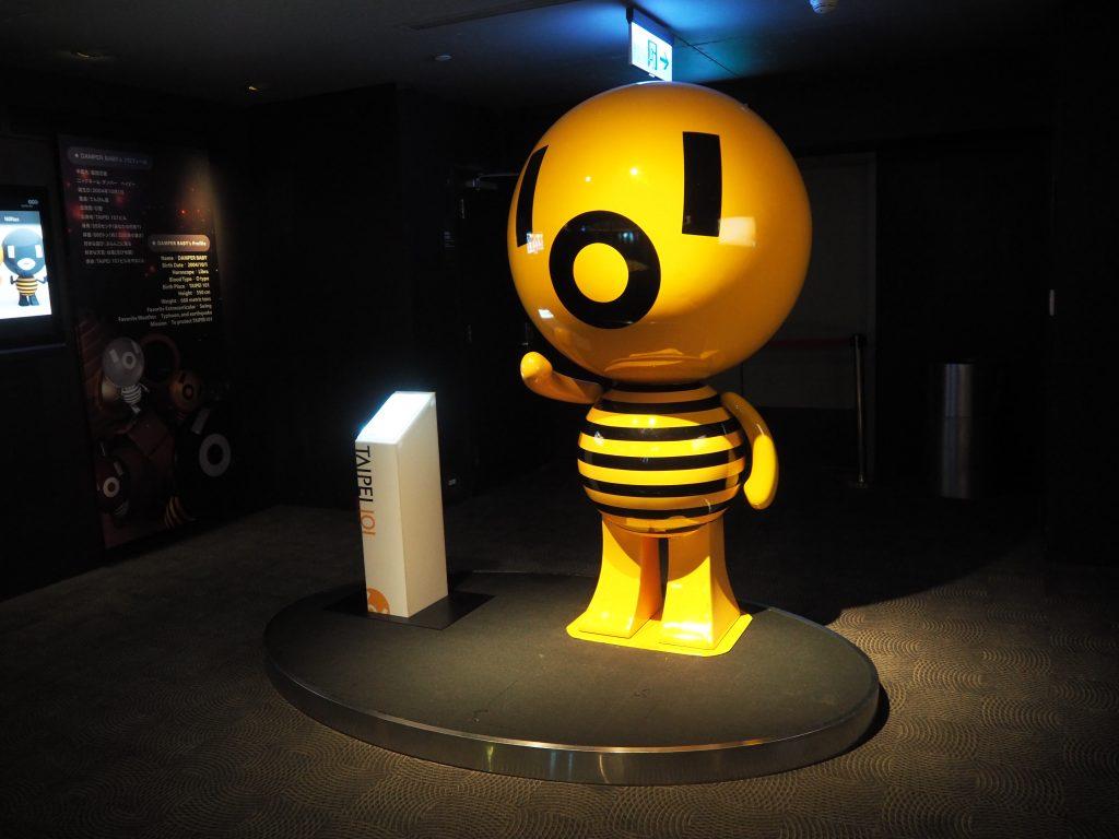 台北101のマスコットキャラクター「ダンパーベイビー」