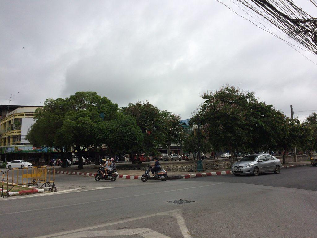 チェンマイ市街地