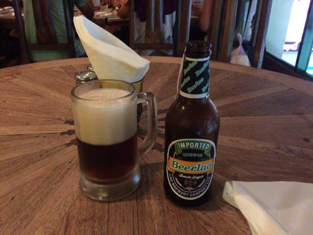 ラオダーク(ラオスの黒ビール)