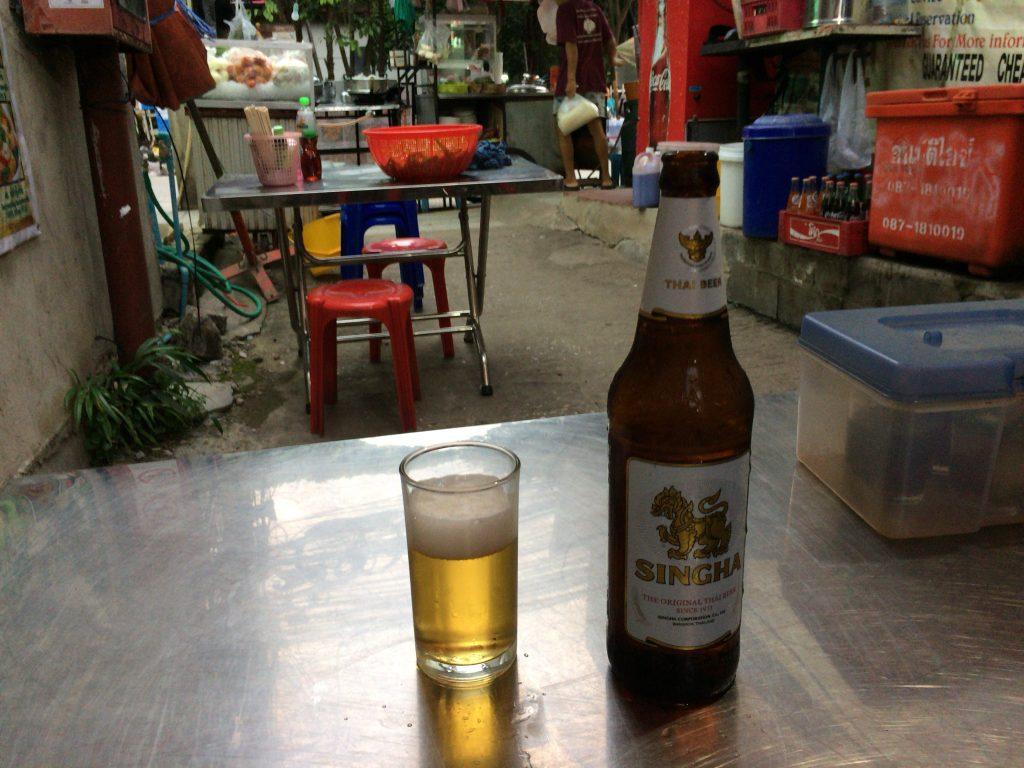 タイの定番シンハービール