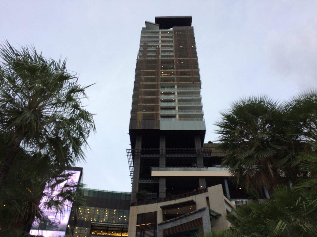 セントラルフェスティバルに併設されたヒルトンホテル