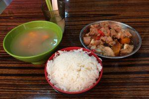 ランチセット(豚肉料理)