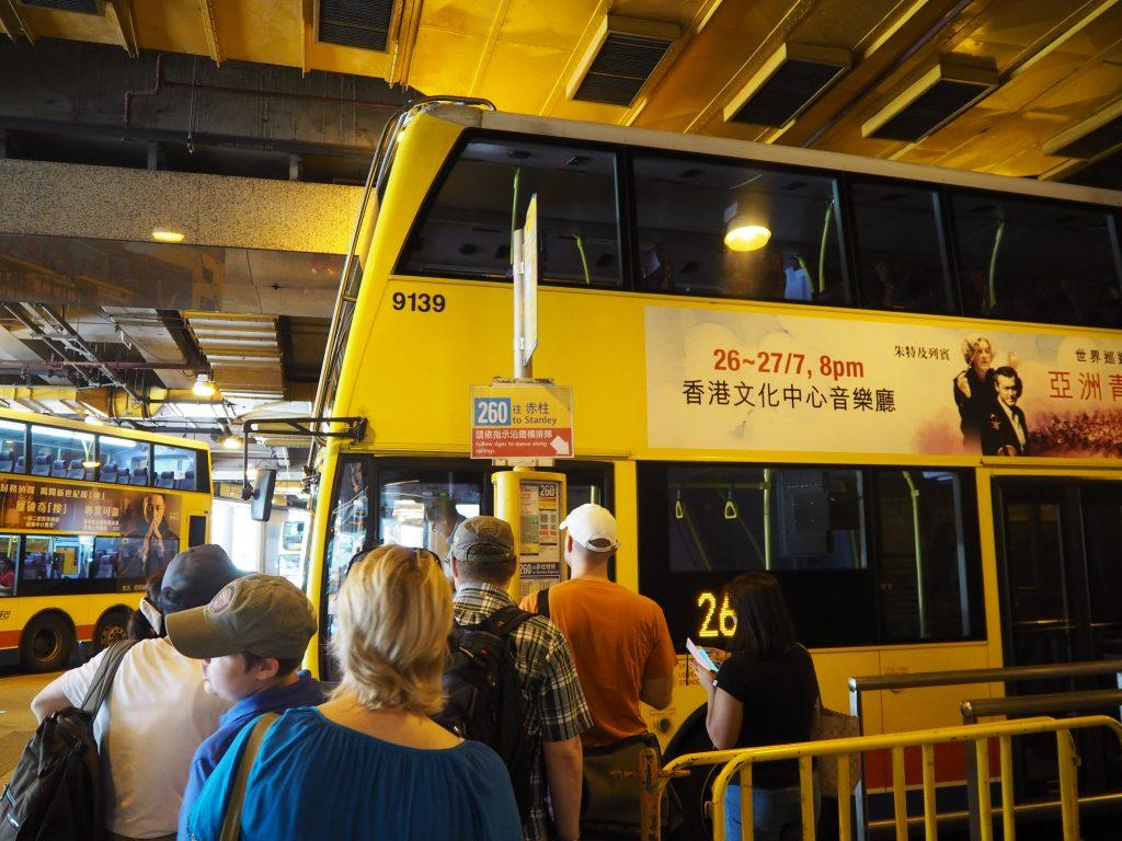 スタンレー(赤柱)行きのバス(260番)