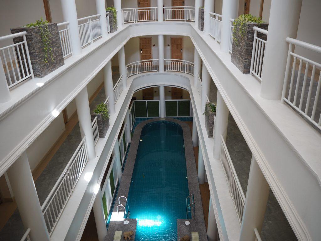 「ハイ チェンライ ホテル」の中