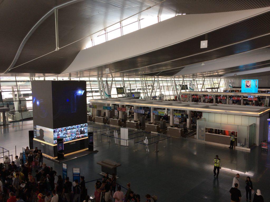 国際線ターミナル3階(チェックインカウンター)