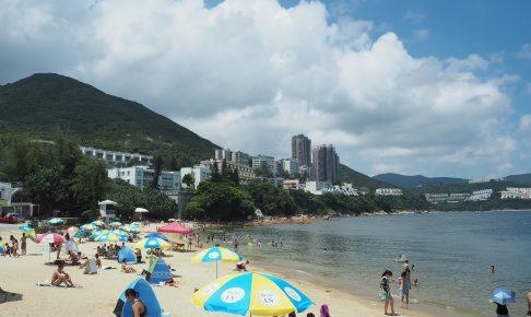 海水浴客が多いスタンレーメインビーチ