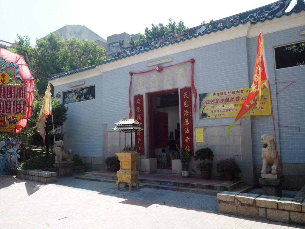 赤柱天后廟(ティンハウ廟)