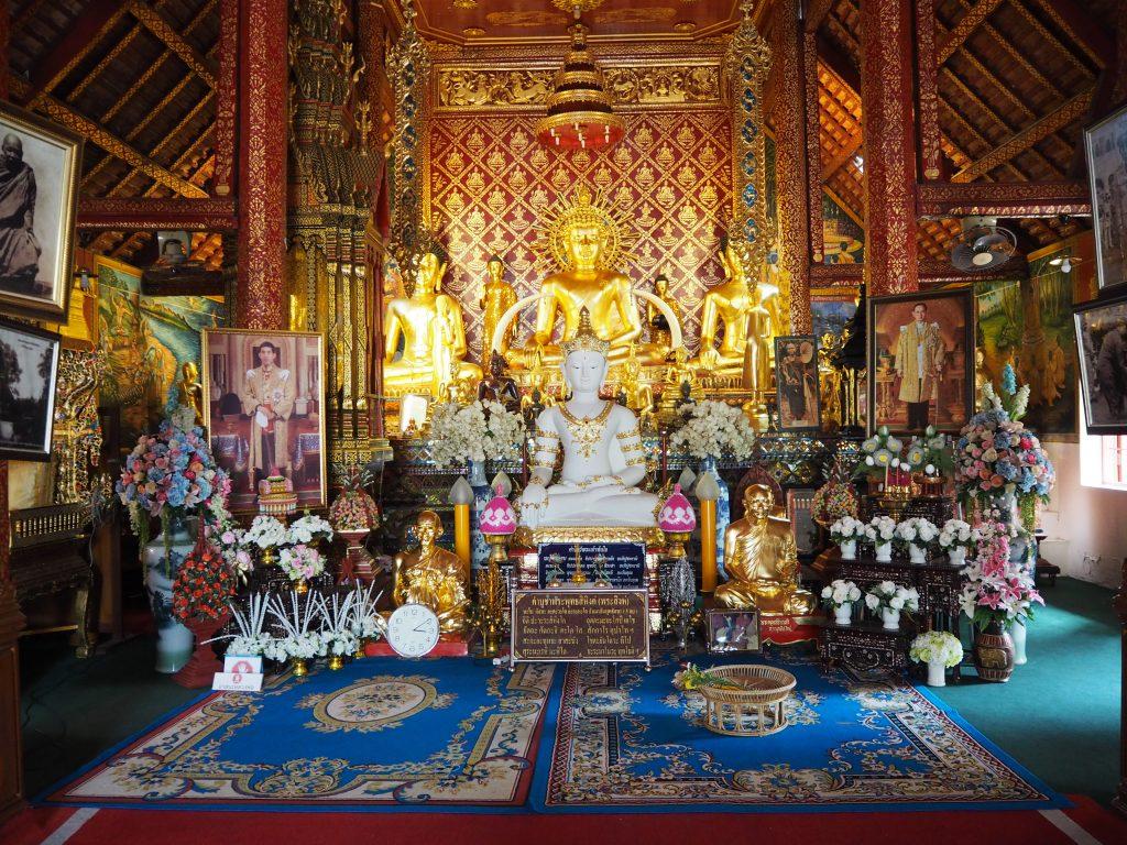 チェンライの「ワット・プラシン」の仏像