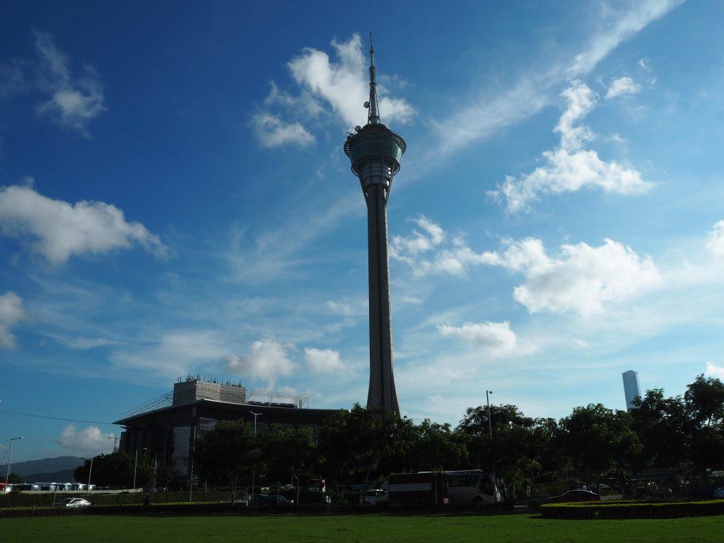 高さ338mのマカオタワー(Macau Tower)