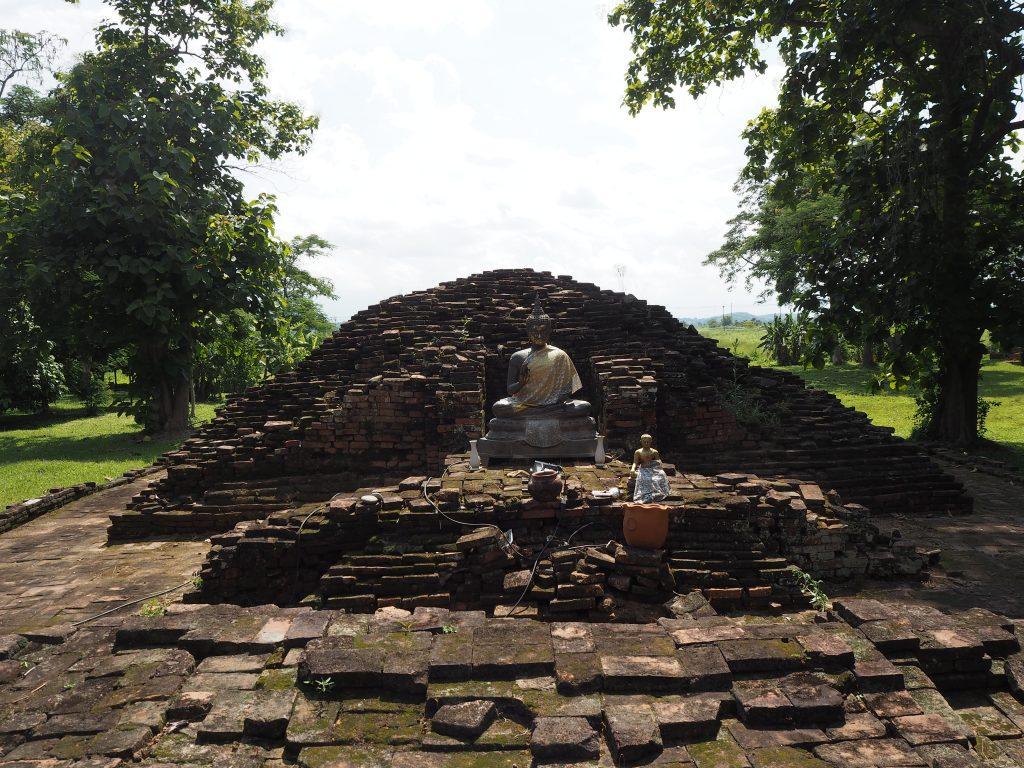 パーサック歴史公園の寺院跡