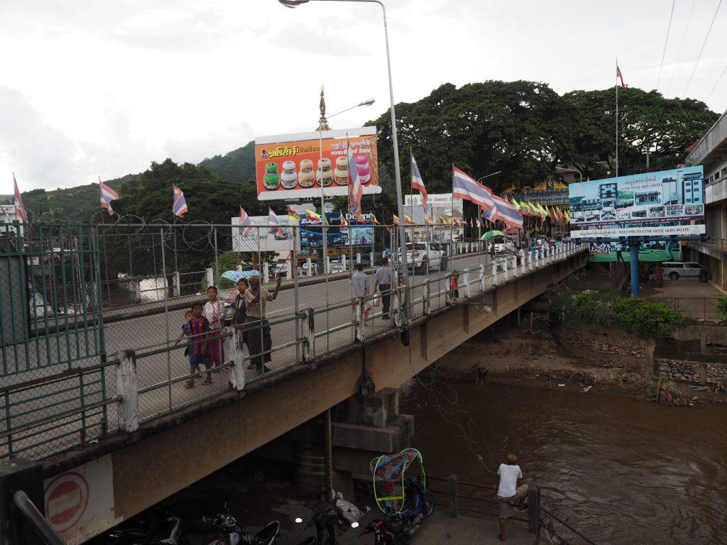 タイとミャンマーを繋ぐ橋
