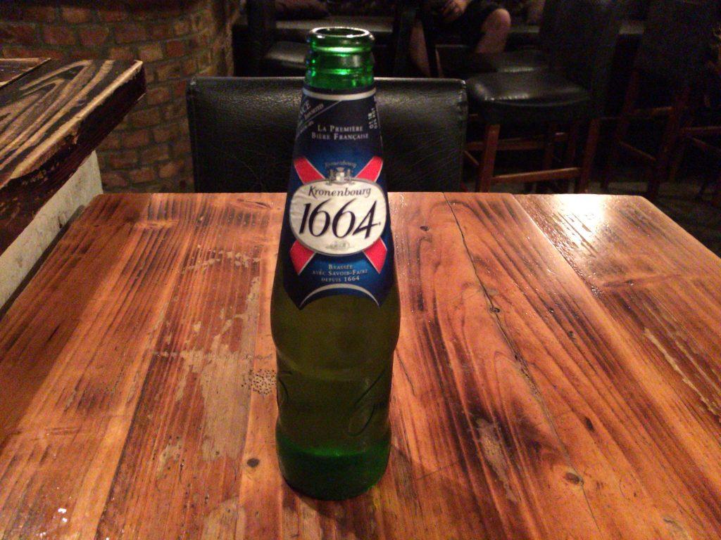 フランスのビール「1664」
