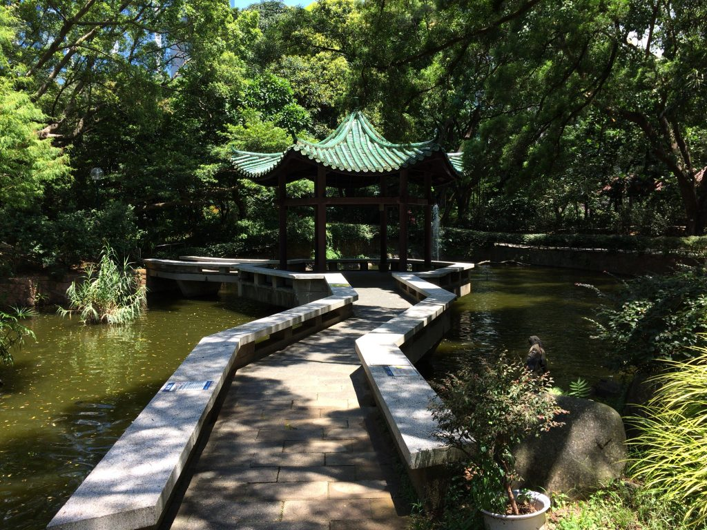 九龍公園の中国式庭園