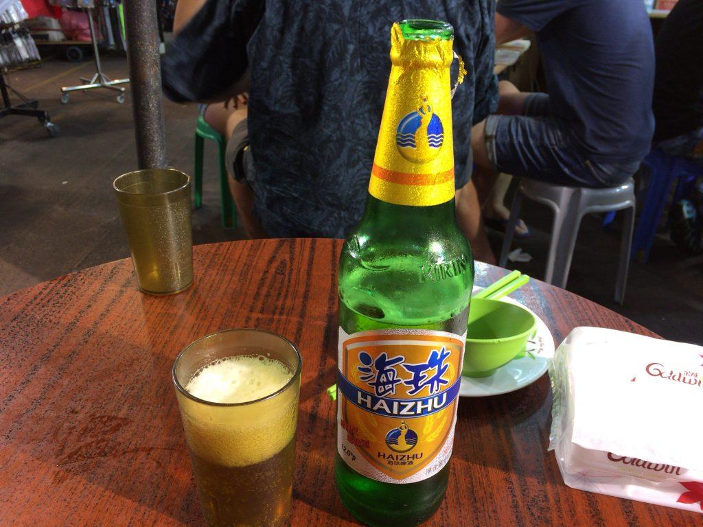 中国の海珠ビール