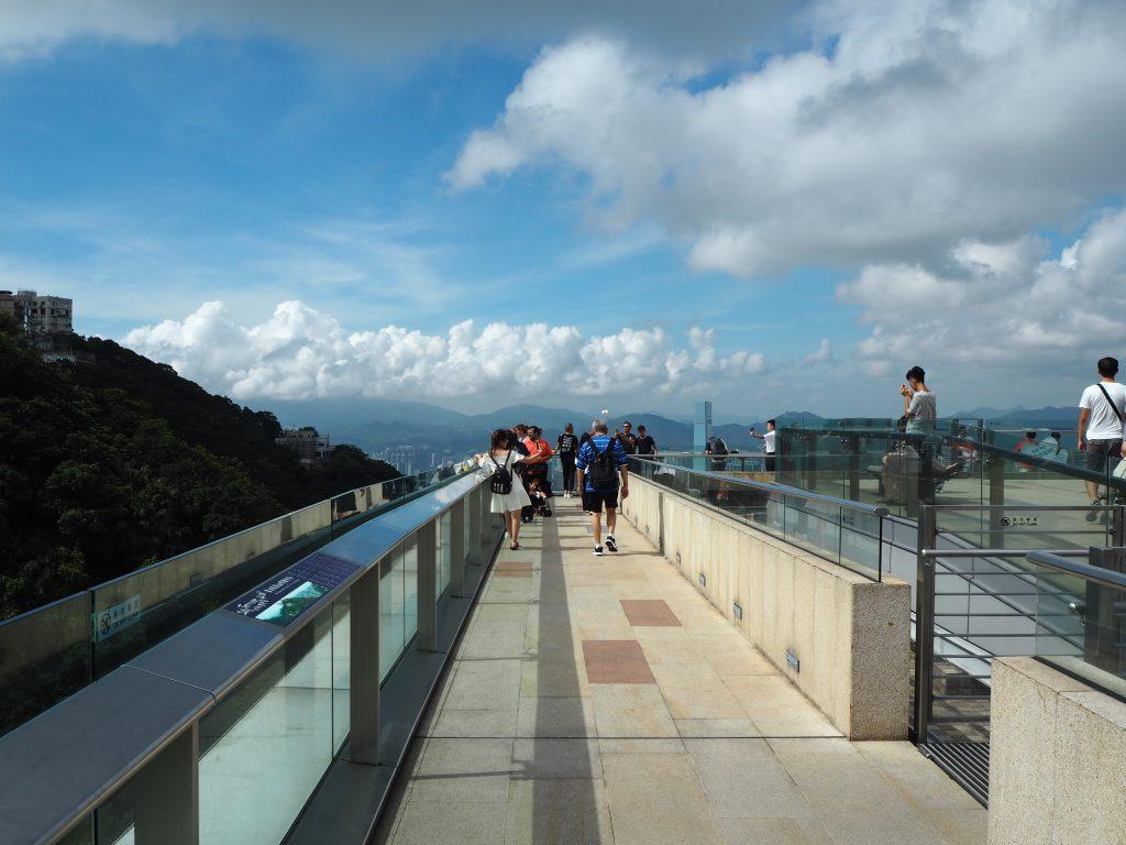 360度景色が見渡せる展望台