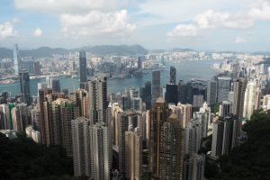 九龍半島と香港島の絶景