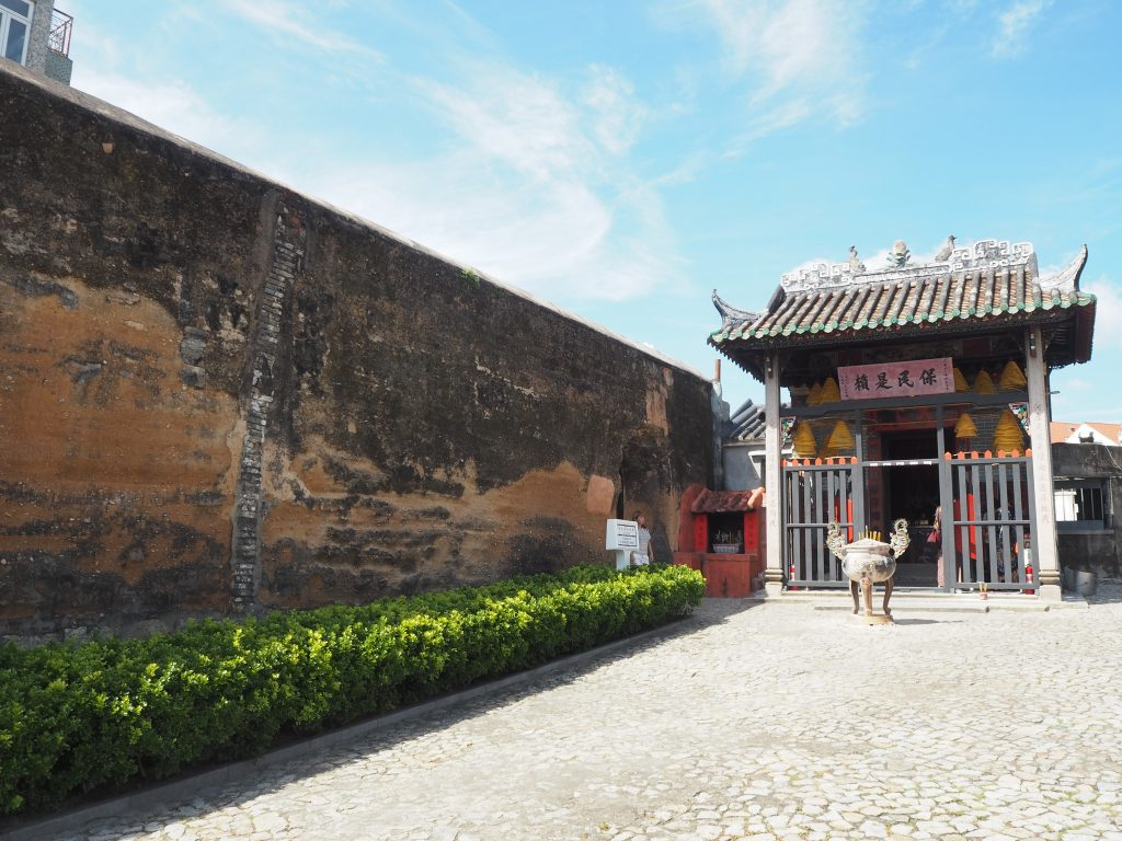 旧城壁(Section of the Old City Walls)