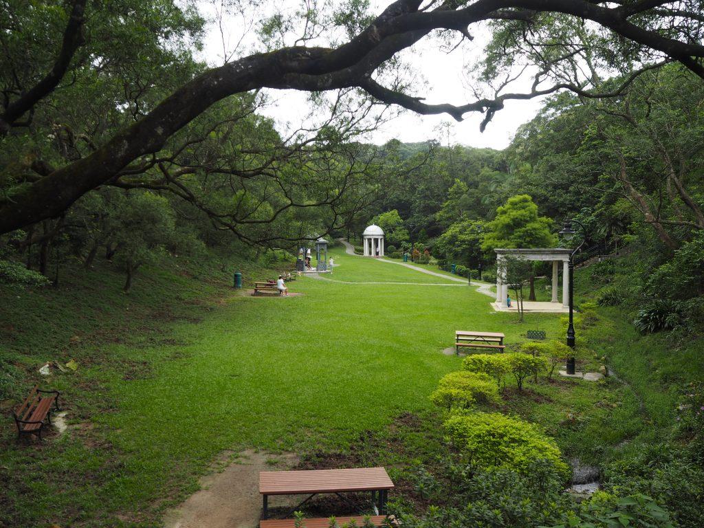 ビクトリアピークガーデン(山頂公園)