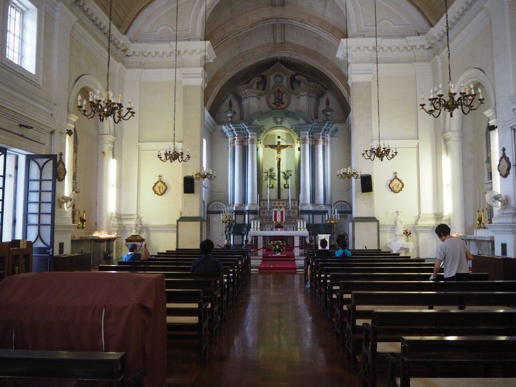 聖アントニオ教会の中
