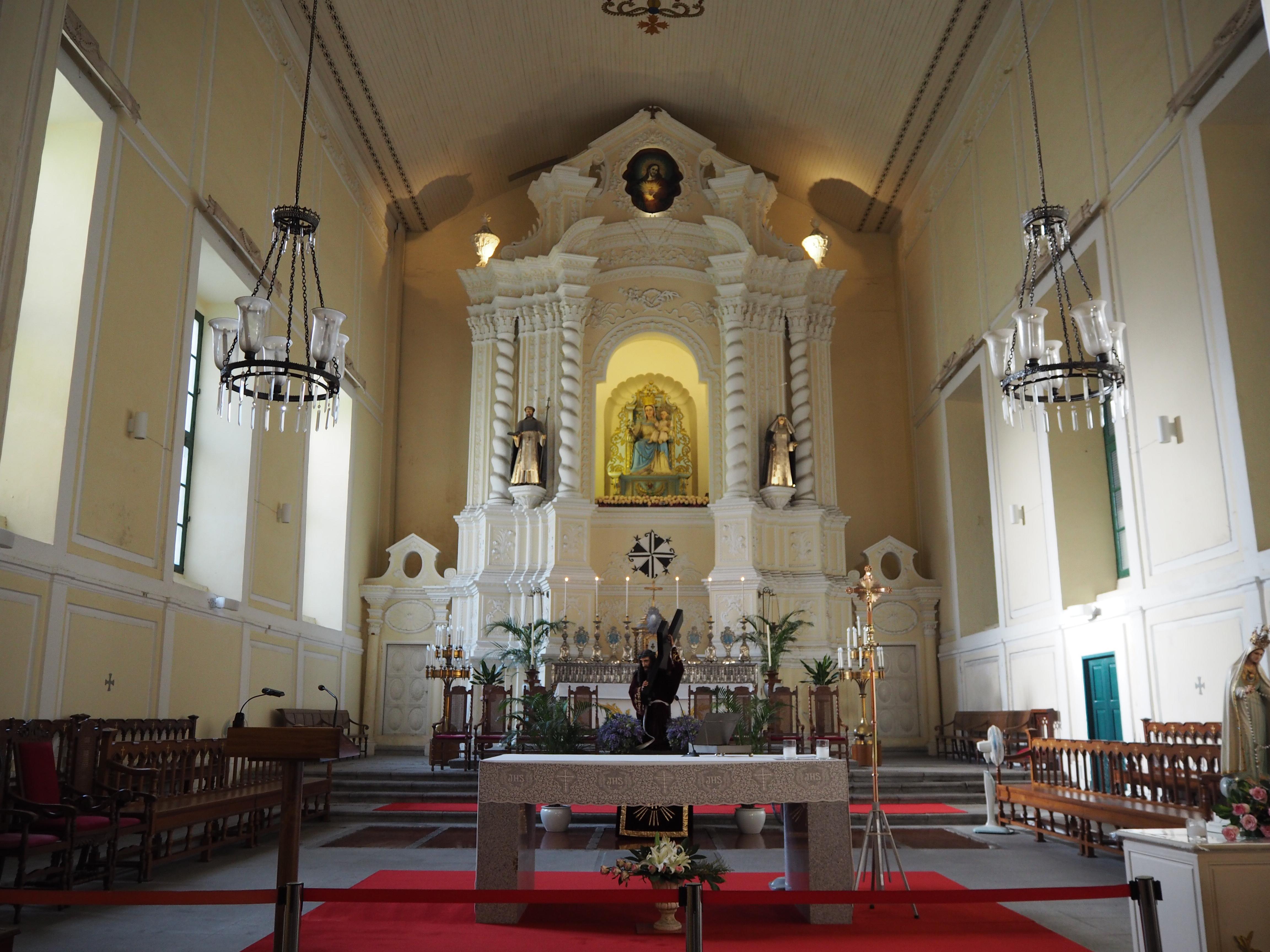 聖ドミニコ教会の中
